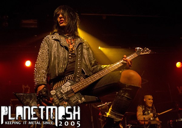 UK tour with Wednesday 13, 2013