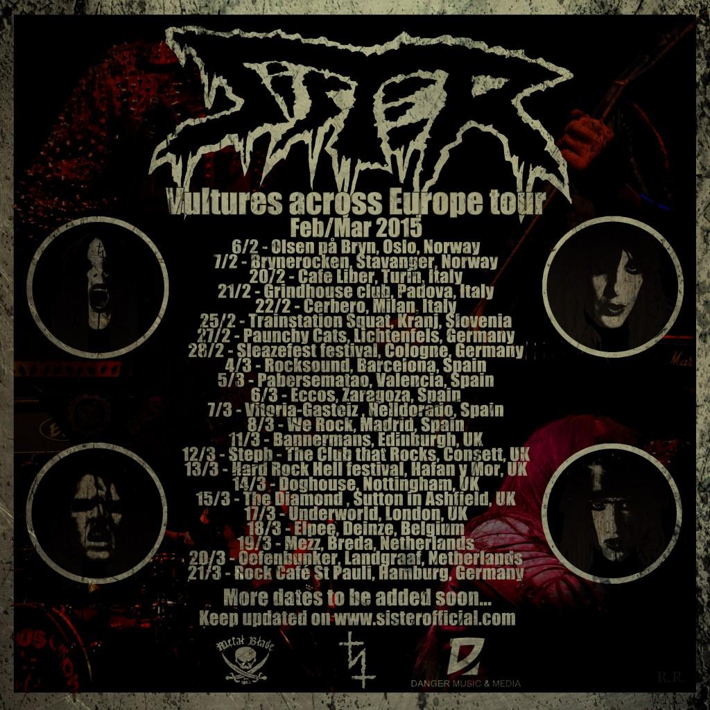 Vultures across Europe tour 2015